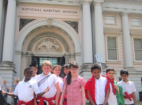 Thames Lighterman Oral History Project - Visit to the National Maritime Museum