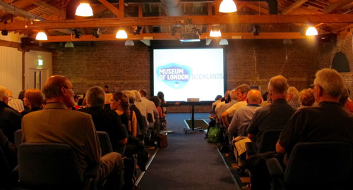 Film event at the Museum of London Docklands
